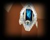 Bluediamond wedding ring