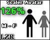 Scaler Avatar M - F 126%