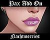 𝖓. Pax Lip Lilac