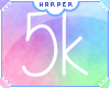 H| 5k Support Sticker