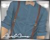 Denim + Suspenders