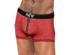 NV Zip Boxer Red