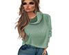 COZY Green Sweater