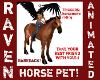 CHESTNUT HORSE PET!