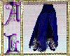 Skirt Gypsy Style Blue