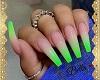 Nails Neon Green