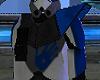 Blue Commander Pauldron