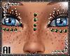 FaceJewels Emerald