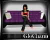 Glo* 3 SeatCouch ~ Purpl