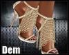 !D! Gold Heels