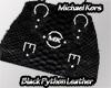 Michael Kors Blk Python