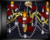 ROYAL RED CHANDELIER