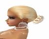 Blonde Hat Hair With Bun