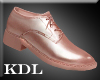 Rose Gold Dress Shoes