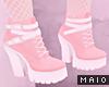 🅜 PINKU: heel boots