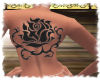 xely-black-rose tatoo