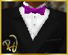 -RJ- DB Tuxedo Top Purp