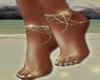 SeaFoam Sparkled Anklets