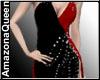 Sexy Long Dress BlackRed