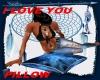 NSE I Love U Pillow