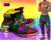[r] PRIDE Paint Boots M