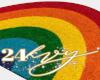 Over The Rainbow Rug