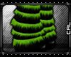 [c] Kyp Legwarmer Green