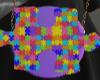 Colorful Pieces Bag
