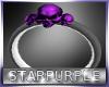 Purple Skull Bracelet R