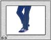 *CC* Blu Strip Pant&Shoe