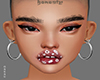 MESH HEAD FLOWER LIP