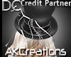 (AK)Ritz it up top hat