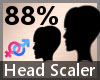 Head Scaler 88% F A