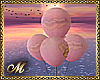 PINK WED BALLOONS