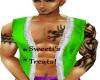 green santa vest