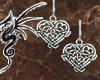 [LD]Silver Celtic Heart