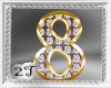 ~2T~ 8 Num Diamond Gold