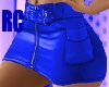 RC DES BLUE SKIRT