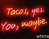 Garage Tacos Neon