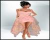 Spring Flowy Peach Dress