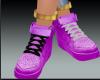 light purple AirForces