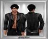 Leather Jacket w Tat V2