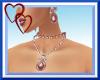 W| Sexy Rose Jewelry Set