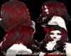 red black hair vamp