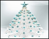 White/Teal ChristmasTree