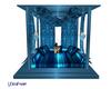 LXF Blue sofa pavilion