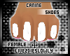 .L. Canine Paws White