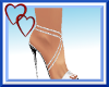 W| Sexy White Heels