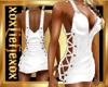 [L] Basic White Dress