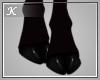 Black Anyskin Hooves F